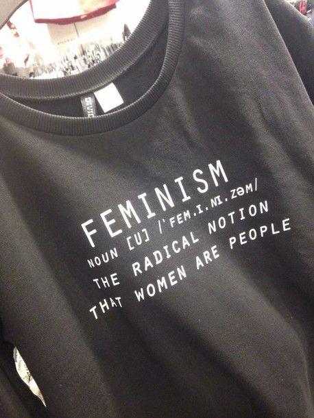blouse black feminist shirt feminism hoodie