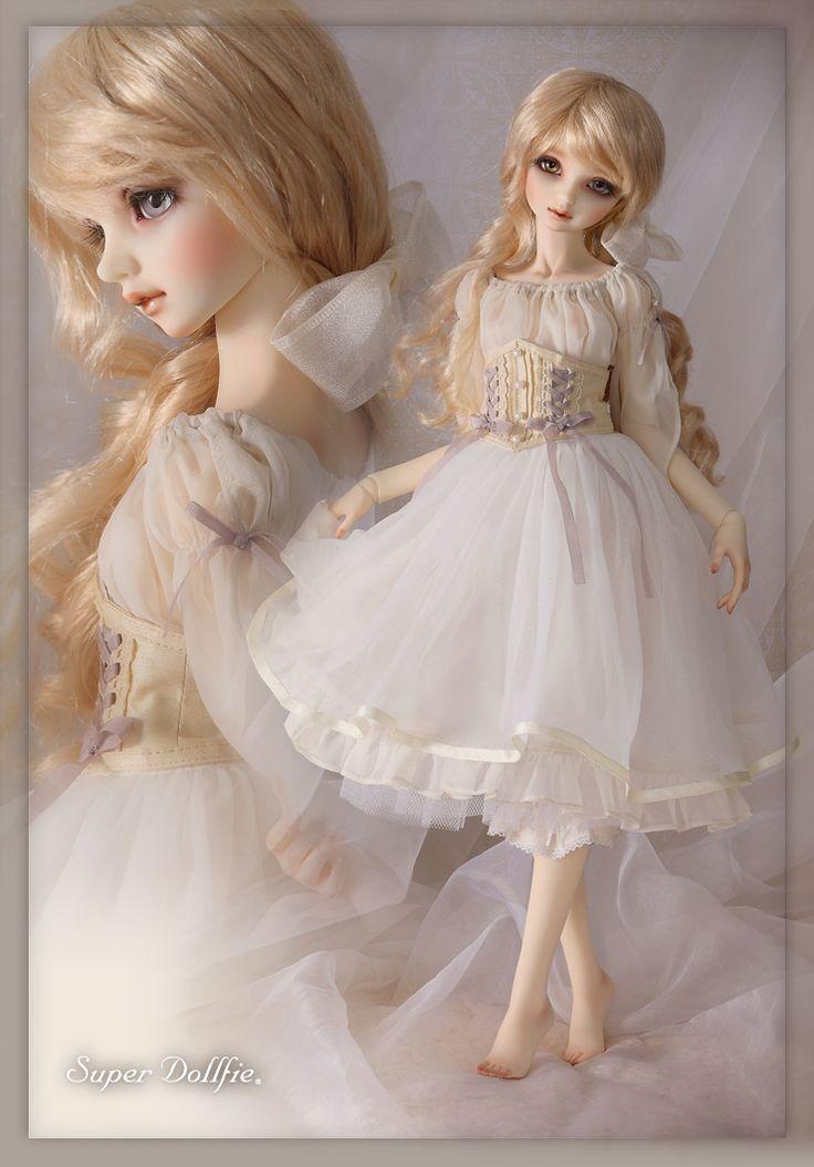 天使の里・霞中庵 特別仕様 スーパードルフィー・ピュアスキンビスク モデル - Super Dollfie®.net