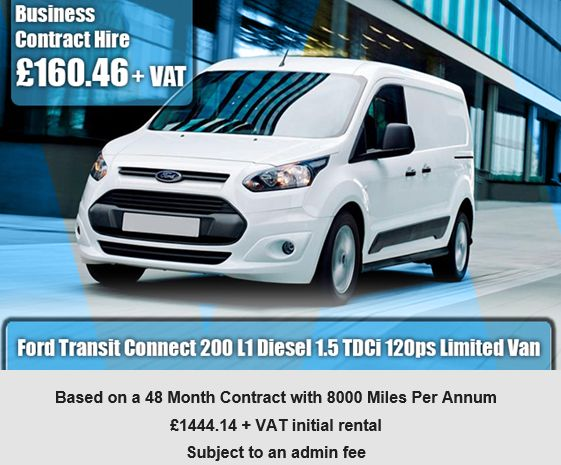 Ford Transit Connect 200 L1 Diesel 1.5 TDCi 120ps Limited Van