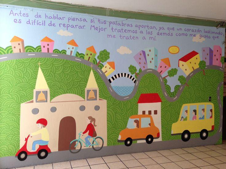 Murales en escuelas de gobierno. #proyectoarteurbano #muralesenescuelas