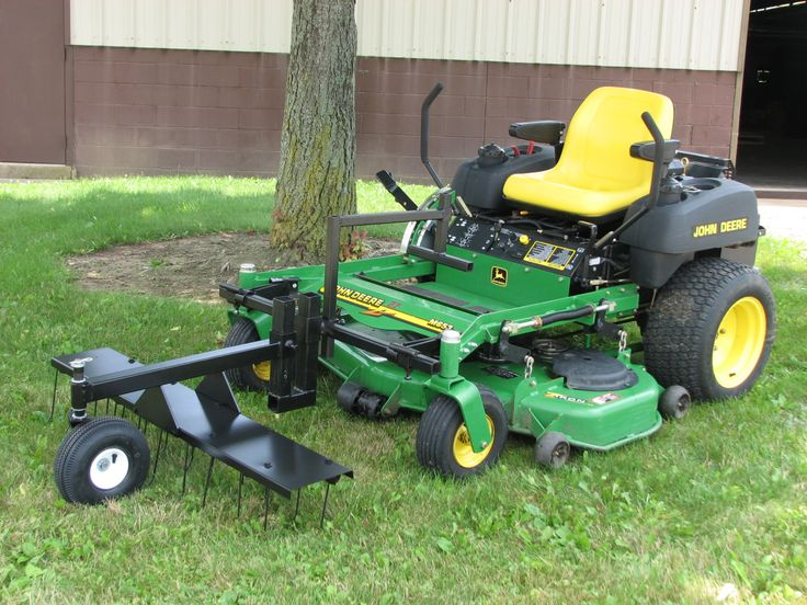Zero Turn Lawn Dethatcher Zero Turn Mower Products