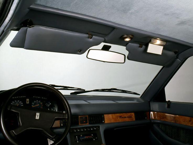 1987 Maserati Biturbo 425 - interior
