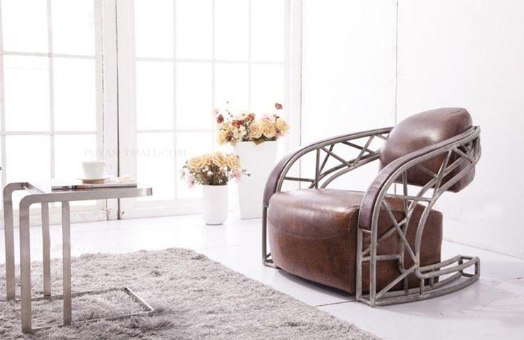 Кресло с откидной спинкой и подставкой для ног