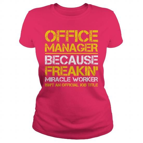 Office Manager Job Title T Shirts, Hoodies. Get it here ==► https://www.sunfrog.com/Jobs/Office-Manager-Job-Title-122395008-Hot-Pink-Ladies.html?57074 $19