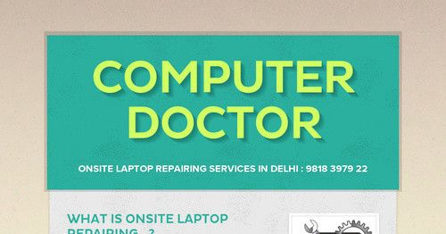 What Is Onsite Laptop Repairing...? Onsite laptop repairing is now a real thing in Delhi and is a boon for those who might not have the...