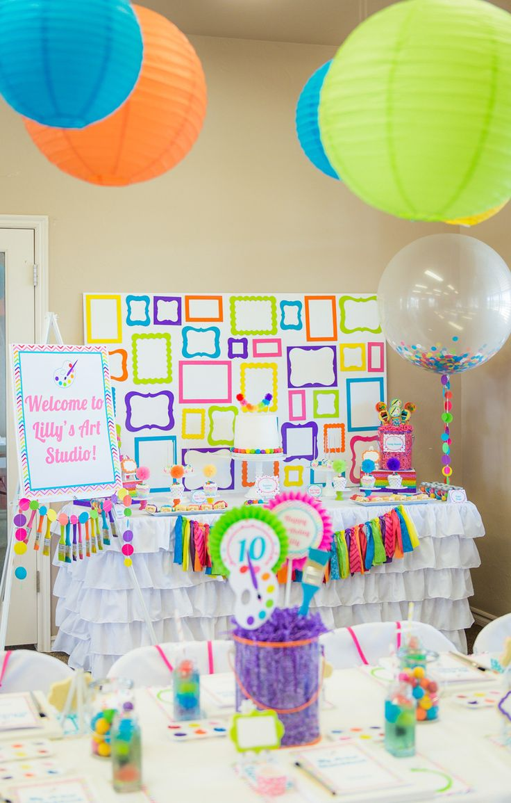 Arts and crafts party ideas - Arts And Crafts Party Ideas 16