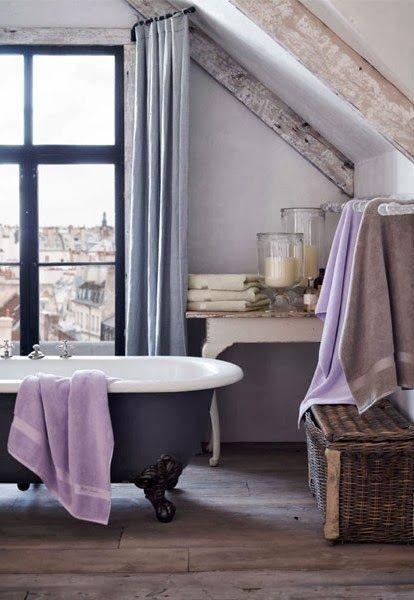 Parisian apartment bath   ᘡղbᘠ