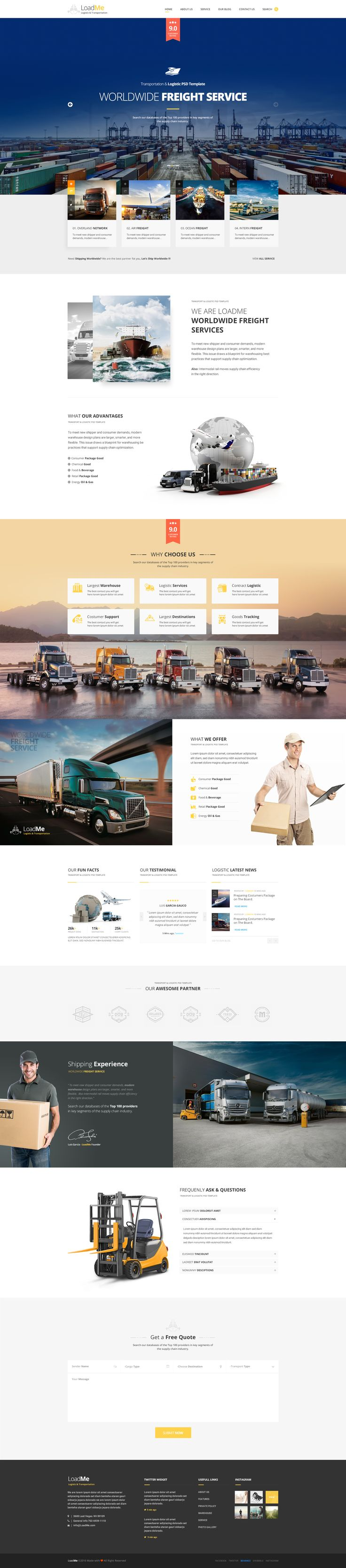 158 best web design images on pinterest templates apps and loadme is an awesome design idea for website of lo pronofoot35fo Images