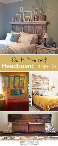 16 DIY Headboard Pro - Check more details on www.prettyhome.org