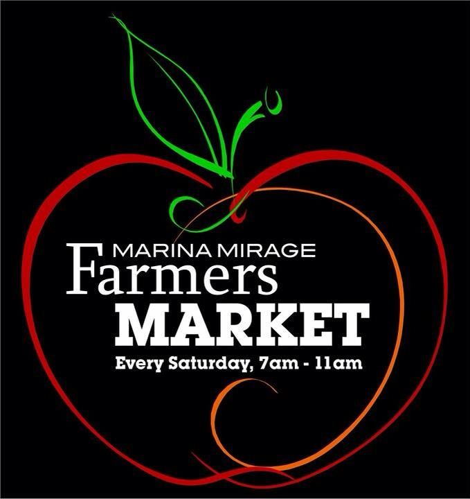 Marina Mirage Farmers Markets, every Saturday from 7-11am, under the sails with plenty of undercover parking available.  Check out our Farmers Market board for further information.