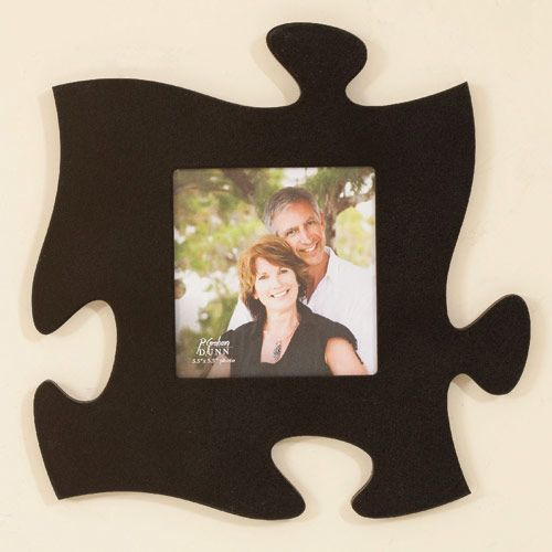 Puzzle Shaped Connectable Photo Frames Puzzle Piece Frame Double