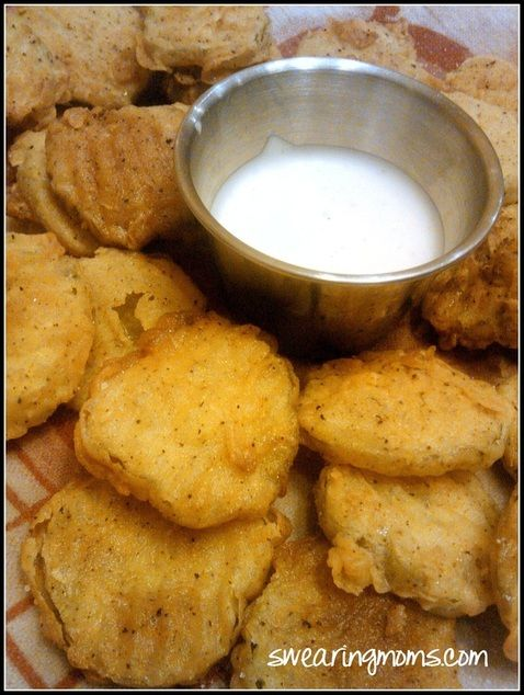 FRIED PICKLES! REALLY GREAT FOR HANGING OUT