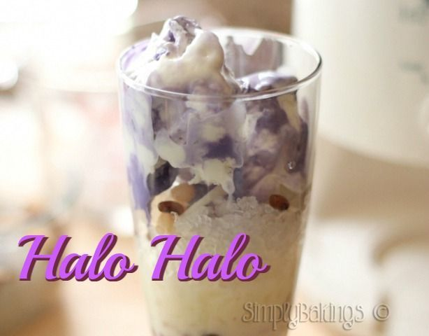 A Filipino summer refreshment that's so perfect for hot sunny days!   Halo-Halo |Simply Bakings