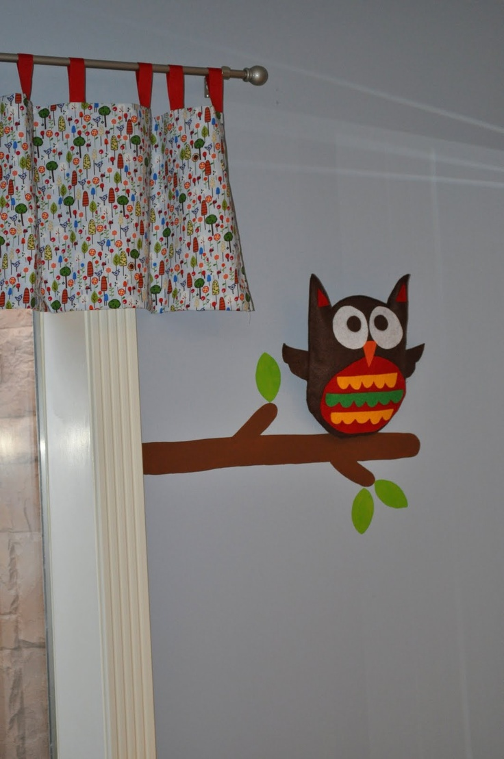 Froggies nursery wall decals by couture d 233 co - Plush Owl On Wall