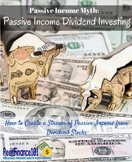 Create a passive income dividend strategy with this simple process. Understand how dividend investing compares to other passive income myths