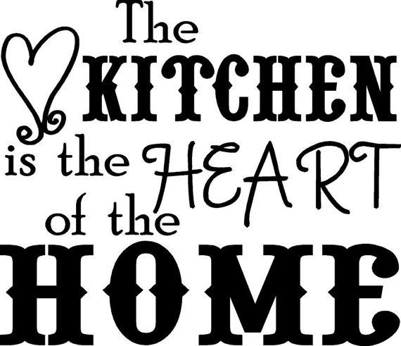 1000 images about kitchen quotes to stencil on pinterest for Kitchen quotation