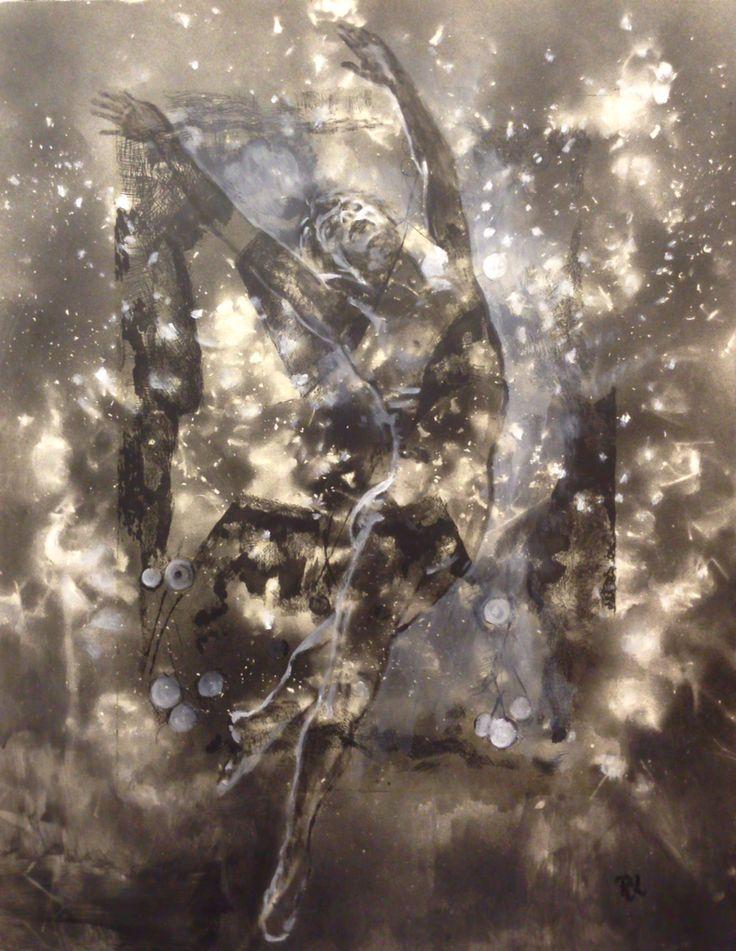 #nureyev#43x56#alkyd,acrylic#paper#rithva.dk#