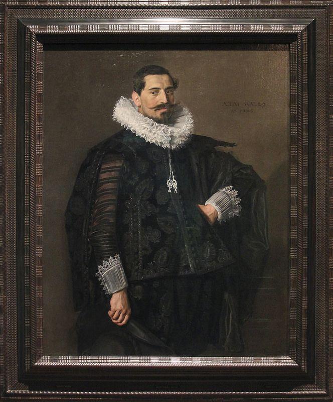 Portrait of Jacob Olycan, Frans Hals, 1625, Frans Hals, 1625 | da Kotomi_