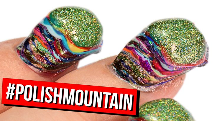 100+ Coats of Nail Polish by @SimplyNailogical Would you take this #POLISHMOUNTAIN challenge? - Dana #ghousejams