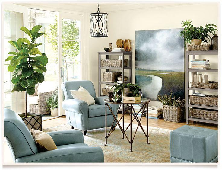 Ballard designs amiel living room i wonder what kind of tree that is love