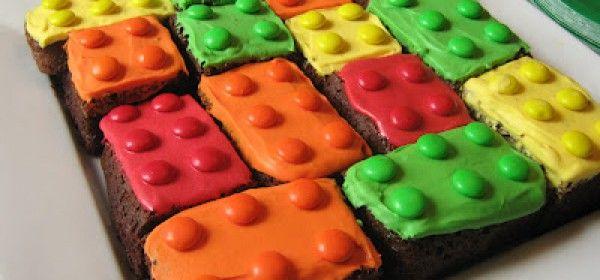 RECETA BROWNIES LEGO