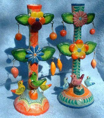 Oaxacan Candlesticks