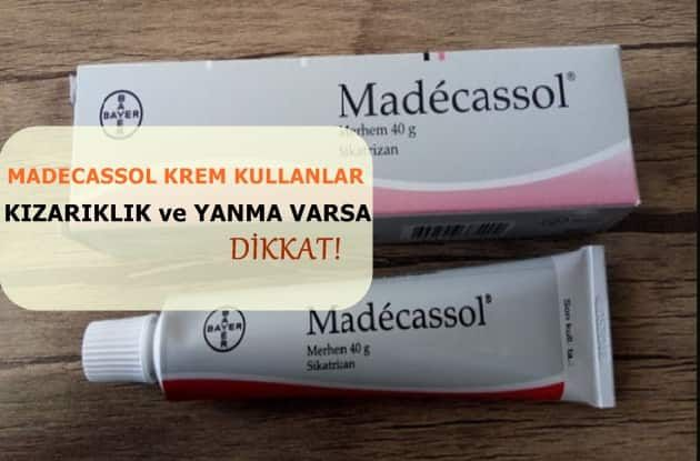 Madecassol krem merhem sivilce