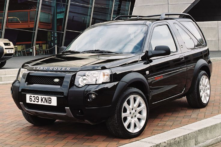 Land Rover Freelander Hardback / Another childhood car. My grandad had a few, every time I went and visited him he'd have a new one in a different colour. - JR
