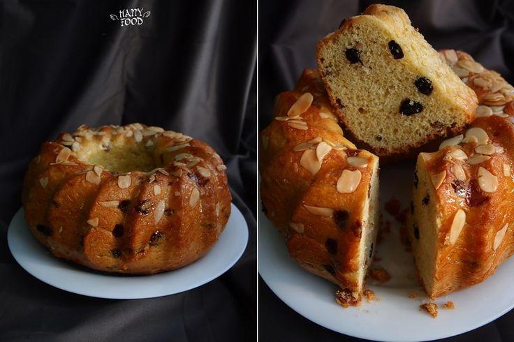 Домашний дрожжевой кекс с изюмом, ароматом пряностей и цитруса - с чайком самое настоящее счастье!: на большой кекс 100 гр изюма 8 ст/л апельсинового ликера 30 гр…