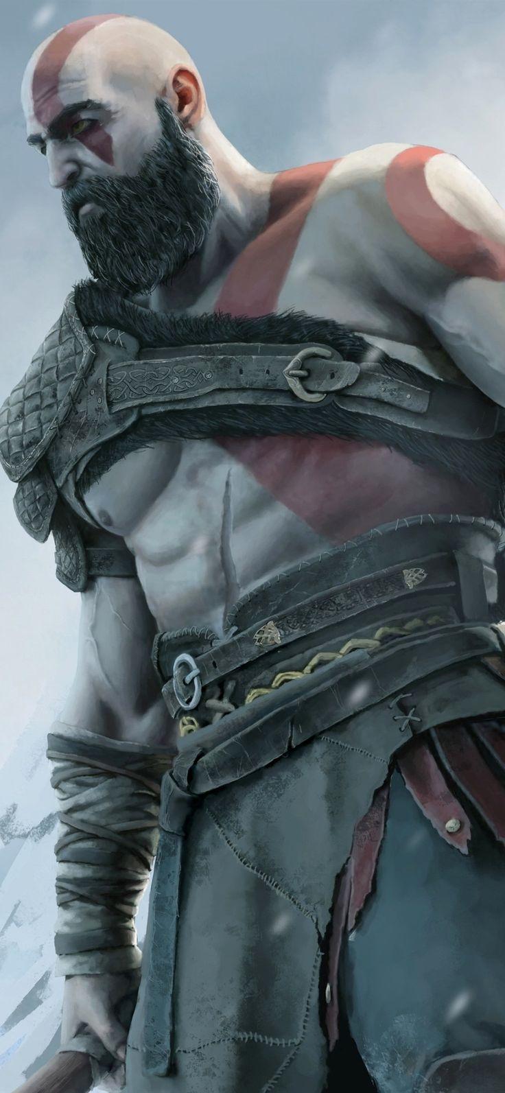 Kratos Wallpaper 4K Iphone Ideas in 2020 Gaming