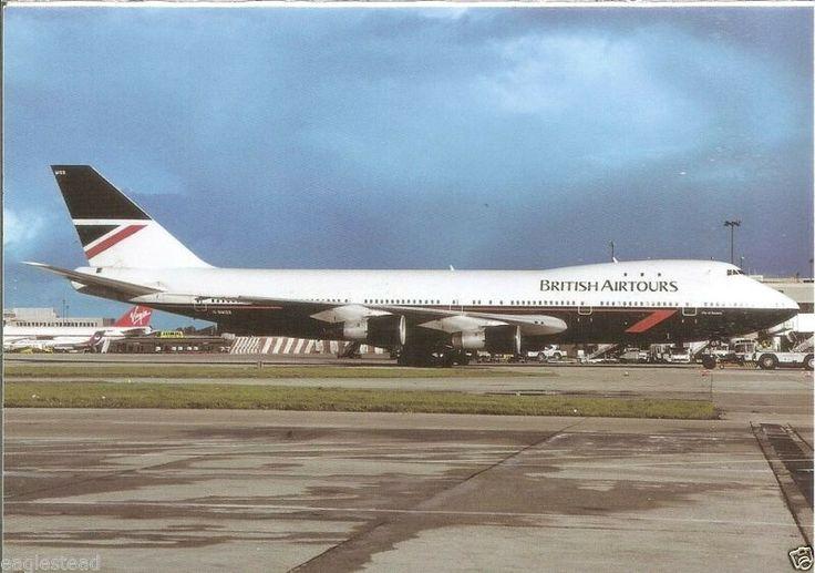 British Airtours (British Airways holiday division) Boeing 747-136