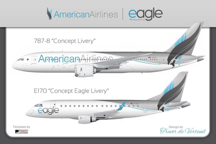 This is what American Airlines should have done for their new livery
