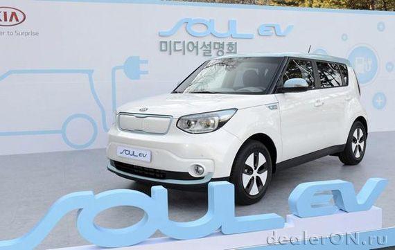 Kia начнет производство электромобиля Soul EV в следующем месяце | Новости автомира на dealerON.ru