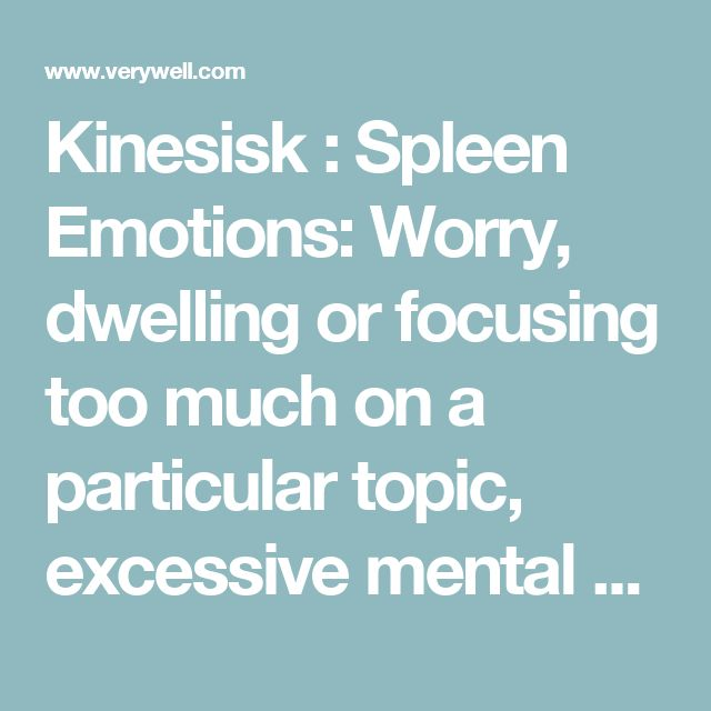 Kinesisk : Spleen Emotions: Worry, dwelling or focusing too much on a particular topic, excessive mental work. Spleen Function: Food digestion and nutrient absorption. Helps in the formation of blood and energy. Keeps blood in the blood vessels. Connected with muscles, mouth, and lips. Involved in thinking, studying, and memory. Symptoms of Spleen Imbalance: Tired, loss of appetite, mucus discharge, poor digestion, abdominal distension, loose stools or diarrhea. Weak muscles, pale lips…