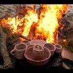SALT GLAZE POTTERY: Firing a wood burning kiln with salt. (千葉県市川市) | Pottery Zone