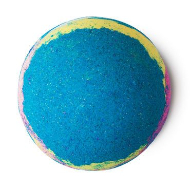 Intergalactic Bath Bomb. An awesome mix of refreshing peppermint and neon color will send your mood rocketing, while popping candy takes you on a trip around the Milky Way.
