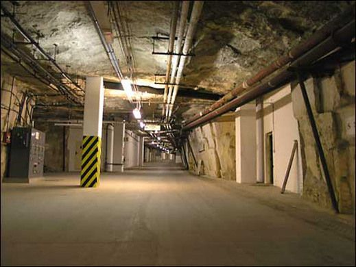 Below a historic English market town lies a secret underground city complete with kitchens, laundries, storerooms, a pub, and an underground lake