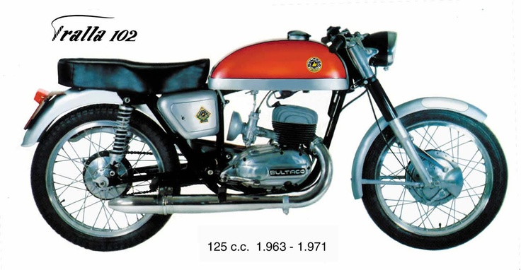 Bultaco Tralla 102. 1963-1971