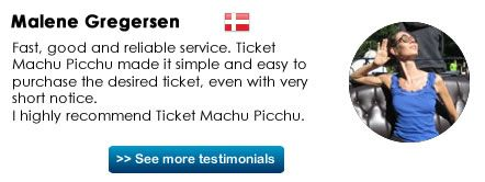 See how many tickets are remaining for Machu Picchu