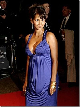 Halle Berry at London premiere.