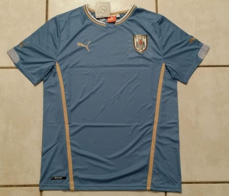 NWT Authentic PUMA Uruguay National Team Soccer Jersey Men's Large in Sports Mem, Cards & Fan Shop, Fan Apparel & Souvenirs, Soccer-National Teams | eBay