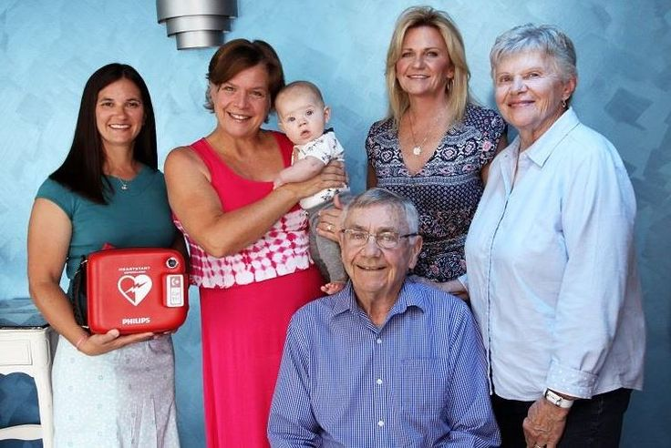 Public places made safer with AEDs