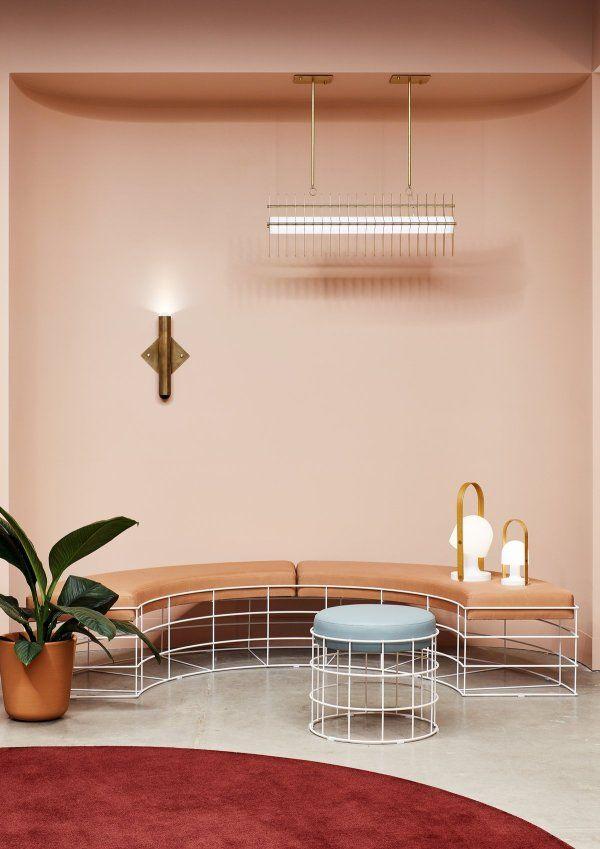 Pour Est Lighting Christopher Elliott A Cree Une Nouvelle Typologie D Espace Interieur Contemporain Luminaires Decoratifs Couleur Interieure