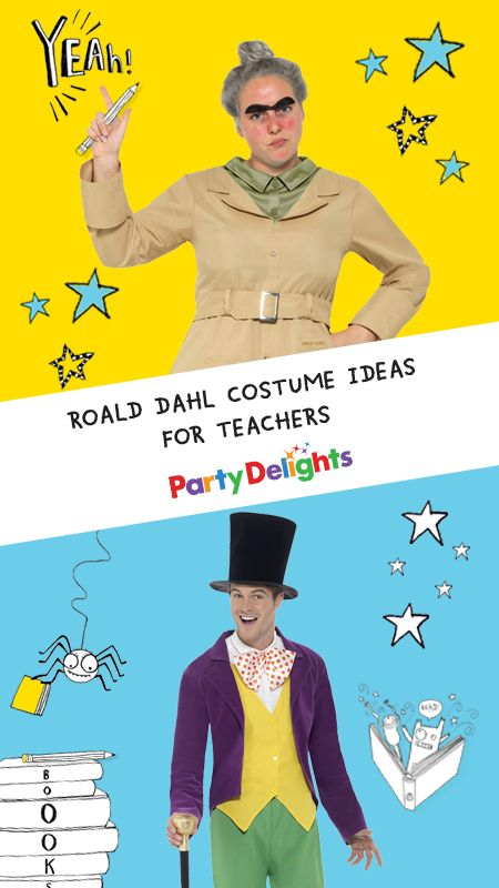 Calling all teachers! Are you looking for World Book Day costume ideas for adults? Check out our handy round-up of the best Roald Dahl costumes for teachers for inspiration - including a brand new Miss Trunchbull costume for adults!