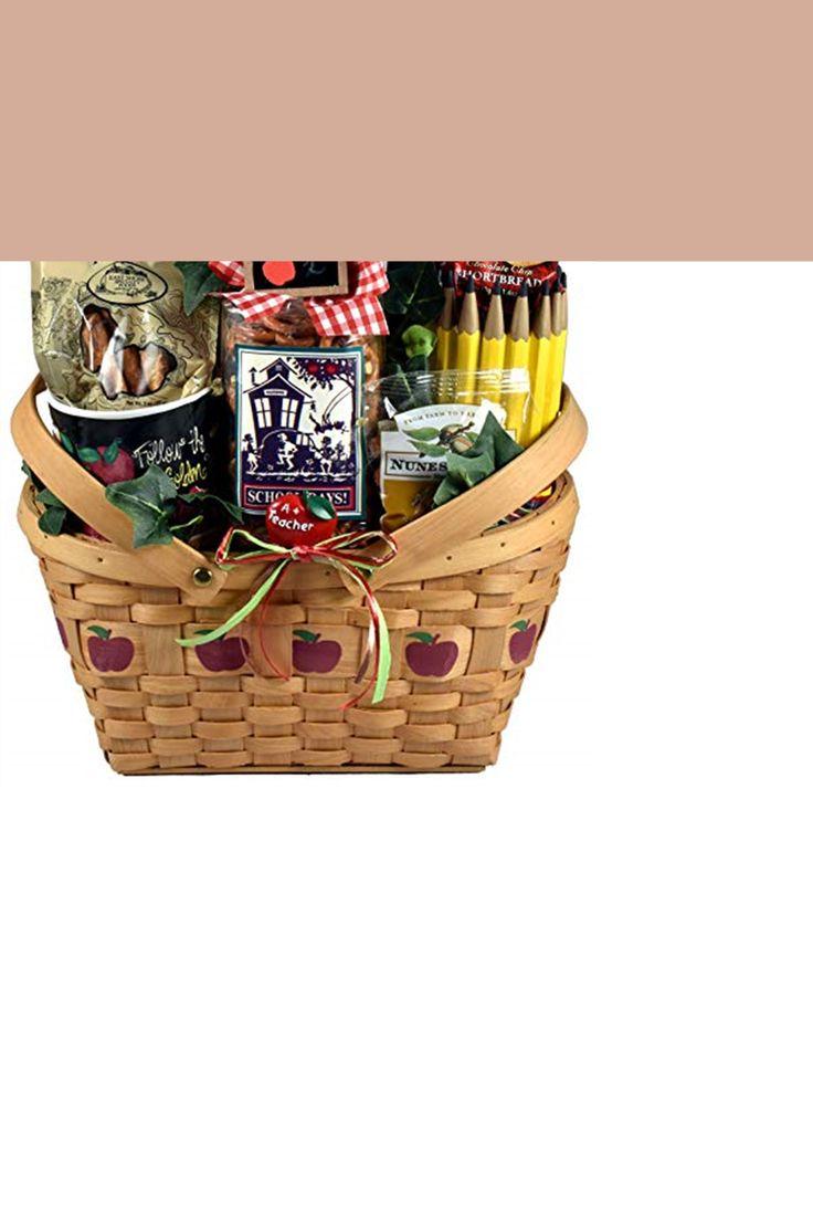 A teacher gift basket send some teacher appreciated