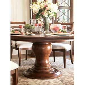 Love this table   Classics Today Round Pedestal Table11 best round pedestal table images on Pinterest   Dining room  . Arlington Round Sienna Pedestal Dining Room Table W Chestnut Finish. Home Design Ideas