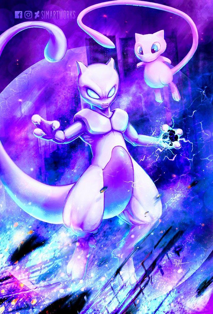 Mew Mewtwo Pokemon Pokemon Mew Mew And Mewtwo Cute Pokemon Wallpaper