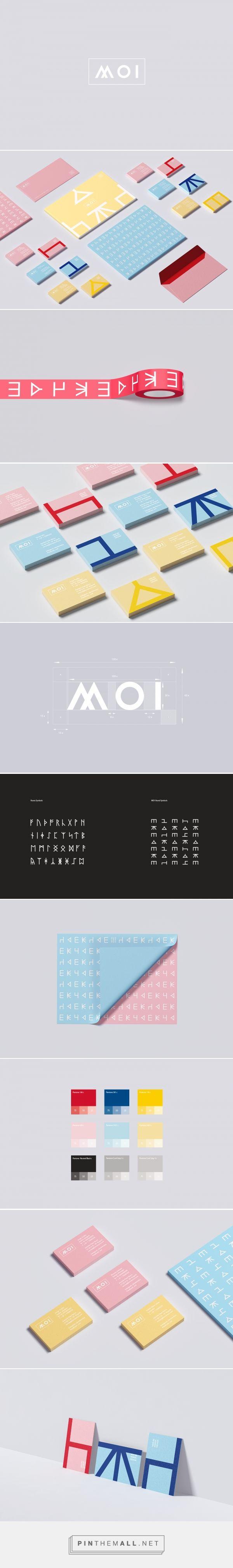 MOI New Nordic Design Visual Identity