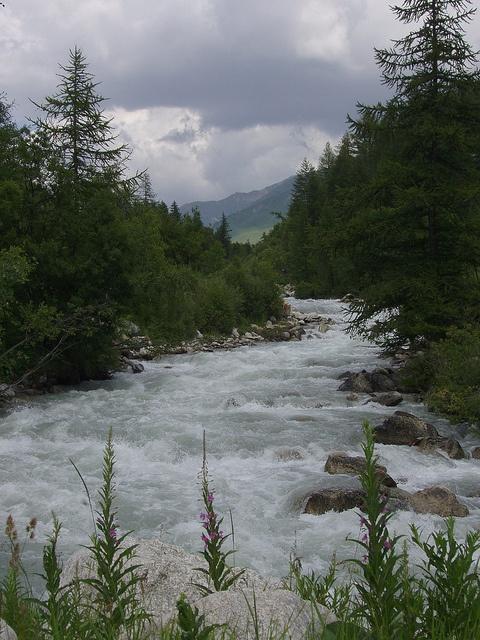River Veny, Courmayeur, Italian Alps by Themida Nasopoulou, via Flickr