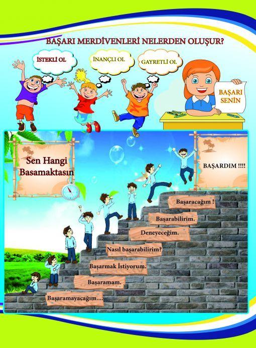Rehberlik başarı merdivenleri nelerden oluşur?